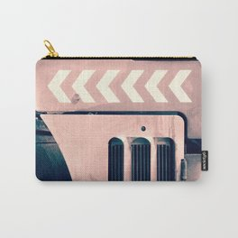 Road Roller Chevron - Industrial Abstract (everyday 17.01.2017) Carry-All Pouch