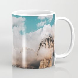 Mountains in Clouds.  Nature Landscape Photography Coffee Mug
