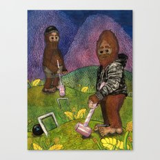 Croquet Canvas Print