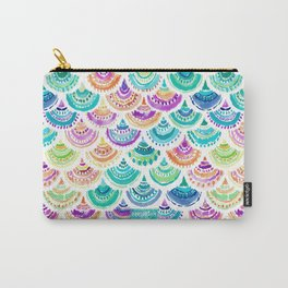 RAINBOW MERMACITA Colorful Mermaid Scales Carry-All Pouch
