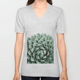 Succulent splendour Unisex V-Neck