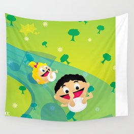 Music for Babies Wall Tapestry