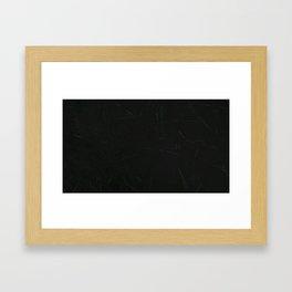 Radiation Framed Art Print