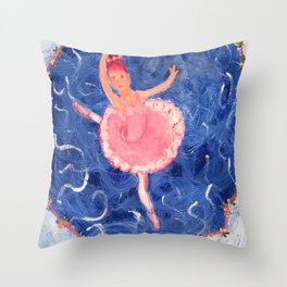 Sugar Plum Fairy Throw Pillow