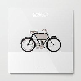 1901 Werner La Motocyclette Metal Print