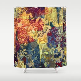 hide and seek floral 2 Shower Curtain