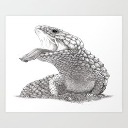 Bobtail - King of the Road Art Print