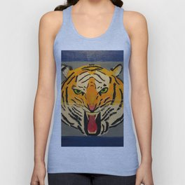 Fear The Tiger Unisex Tank Top