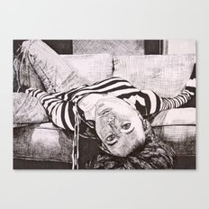 Upside Down Canvas Print