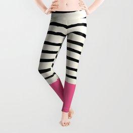 Watermelon & Stripes Leggings