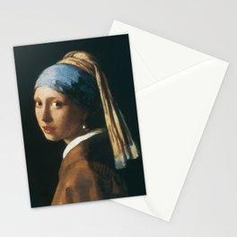 The Girl with a Pearl Earring Stationery Cards