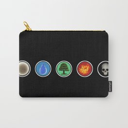 Realistic MTG Symbols Carry-All Pouch