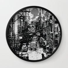 Something In Between Wall Clock