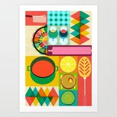 Wondercook Art Print