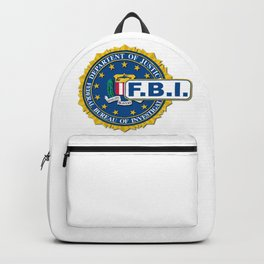 FBI Seal Mockup Backpack