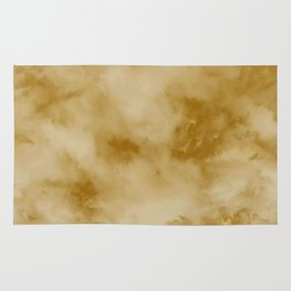 Yellow clouds Rug