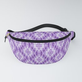 Diamond Pattern in Purple and Lavender Fanny Pack