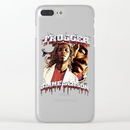 Thugger Slime Season Clear iPhone Case