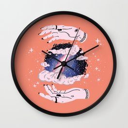 Hidden Space Wall Clock