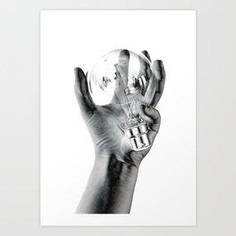 Negative Ideas Art Print