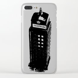 British Booth Clear iPhone Case