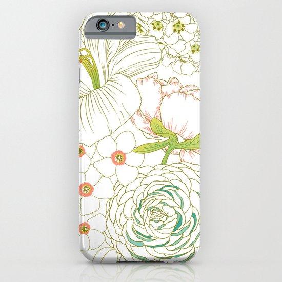 Big Blooms iPhone & iPod Case