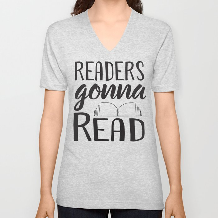 Readers Gonna Read Unisex V-Neck