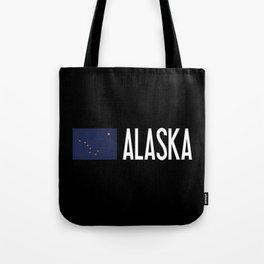 Alaska: Alaskan Flag & Alaska Tote Bag