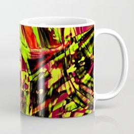 Fluid Painting 2 (Yellow Version) Coffee Mug