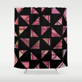 Geometric Shapes: Triangles 03 Shower Curtain