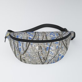 Frosted branches Fanny Pack