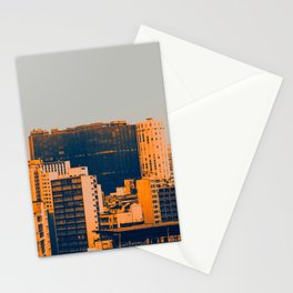 Sao Paulo Skyline II Stationery Cards