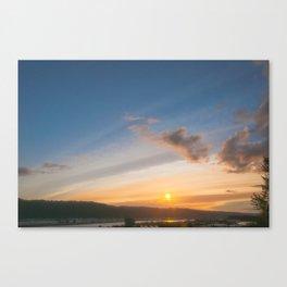 PNW Sunsets Canvas Print