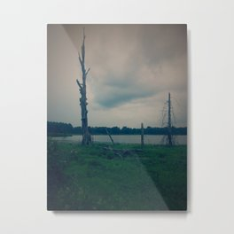 lightning rod Metal Print