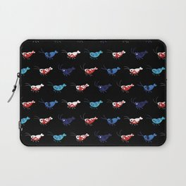Red and blue shrimp Laptop Sleeve