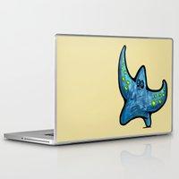 starfish Laptop & iPad Skins featuring Starfish by Michael Hewitt