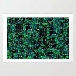 DOS Jungle Ruins Art Print