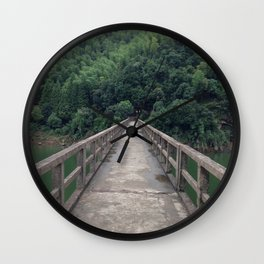 Old bridge Wall Clock