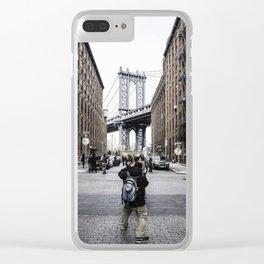 DUMBO Brooklyn Clear iPhone Case