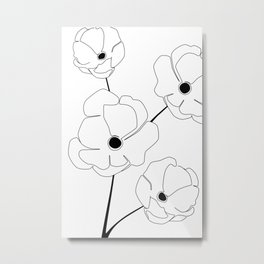 Bloomed Flower Metal Print