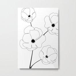 Bloomed Flower Metal Print