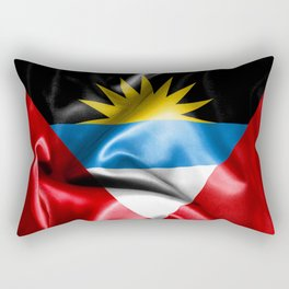 Antigua and Barbuda Flag Rectangular Pillow