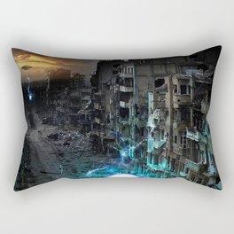 Dystopian Orbs Rectangular Pillow