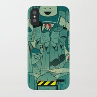 ghostbusters iPhone & iPod Cases featuring Ghostbusters by Ale Giorgini