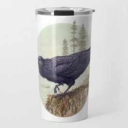Raven of the North Atlantic Travel Mug