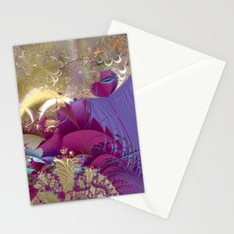 Feelings of being in love -- Fractal illustration Stationery Cards