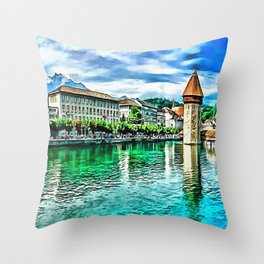 Lucerne Throw Pillow