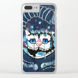 Cheshire Somewhere Clear iPhone Case