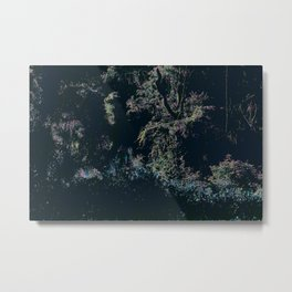 Get Lost Among The Trees Metal Print