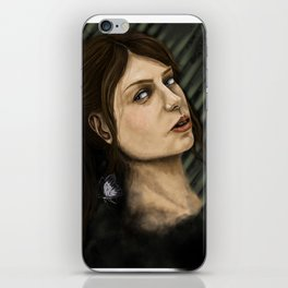 quiet iPhone Skin